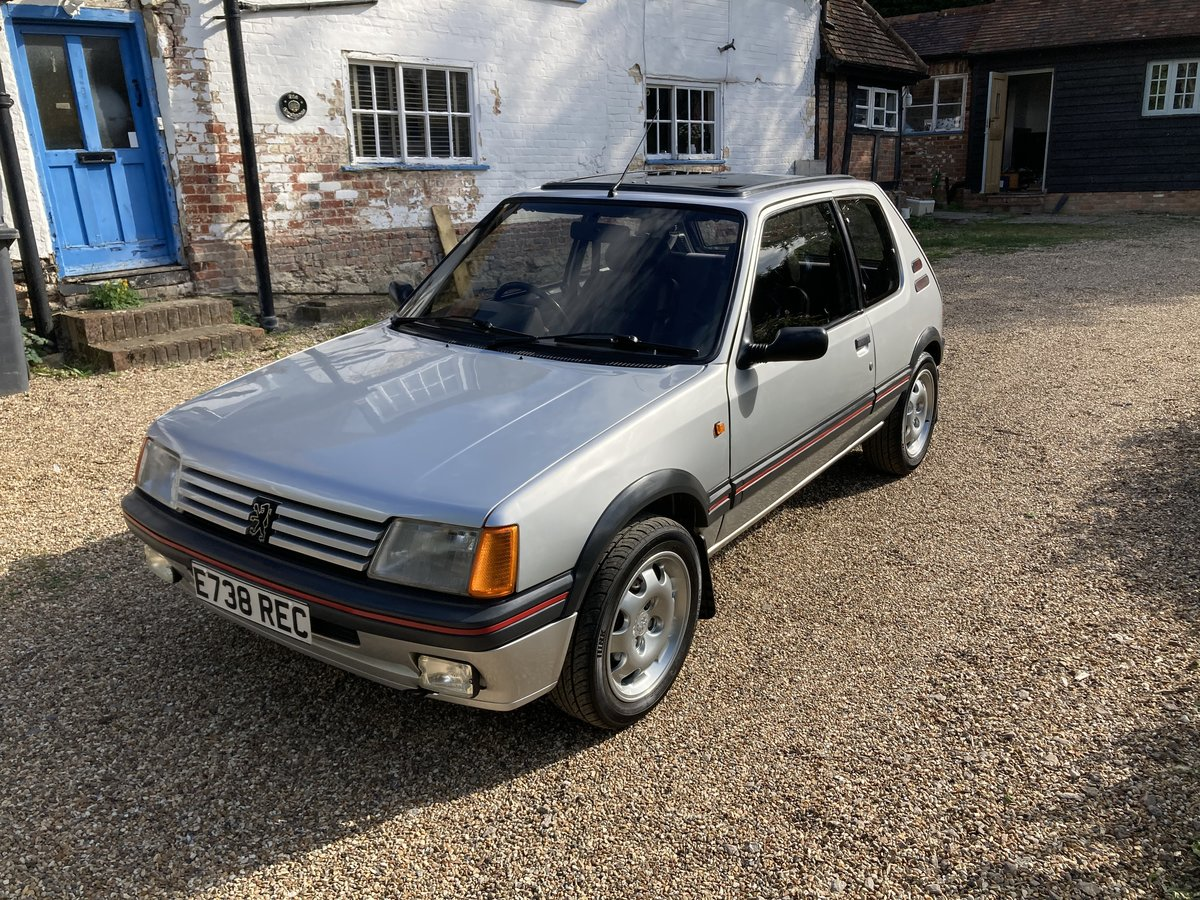 1987 Peugeot 205 1.9 GTI Completely standard, For Sale (picture 2 of 6)