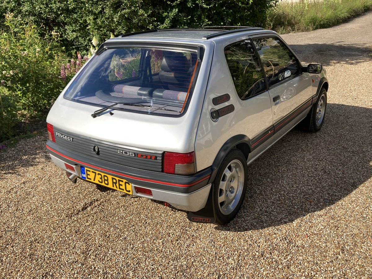 1987 Peugeot 205 1.9 GTI Completely standard, For Sale (picture 4 of 6)