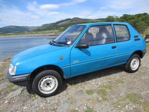 Peugeot 205 Zest, 1.8 Diesel 1995. Enjoy/improve.