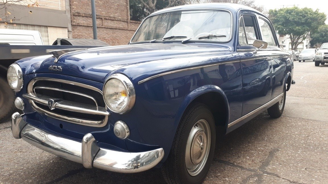 1956 Peugeot 403 with just 126000 kms !!   For Sale (picture 1 of 6)