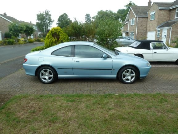 2002 Peugeot 406 Coupe - Modern Classic For Sale (picture 2 of 5)
