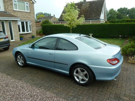 2002 Peugeot 406 Coupe - Modern Classic For Sale (picture 3 of 5)