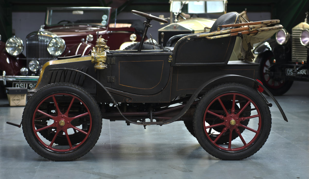 1902 PEUGEOT 5½HP BÉBÉ TWO-SEAT RUNABOUT For Sale (picture 2 of 6)