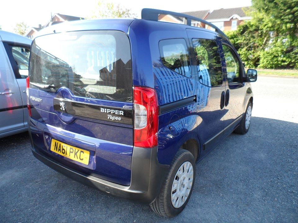 2011 61 PLATE 1250cc DIESEL BIPPER SMALL MPV JUST SERVICE  For Sale (picture 1 of 6)