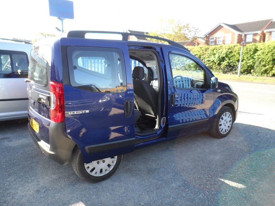 2011 61 PLATE 1250cc DIESEL BIPPER SMALL MPV JUST SERVICE  For Sale (picture 5 of 6)