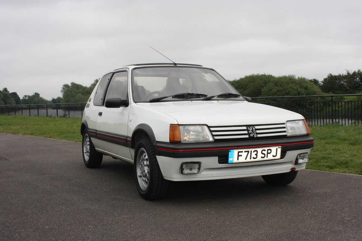 1989 Peugeot 205 GTI 1.6 SOLD (picture 1 of 6)