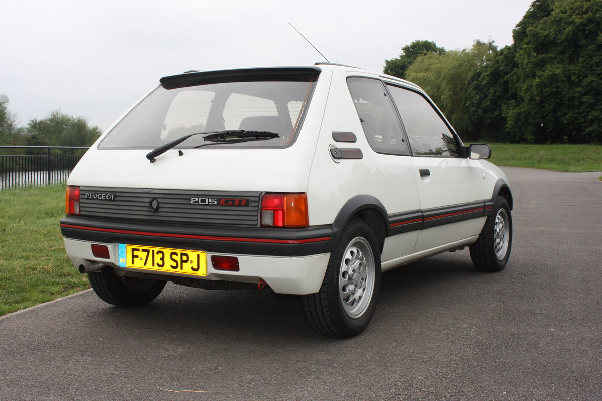 1989 Peugeot 205 GTI 1.6 SOLD (picture 2 of 6)