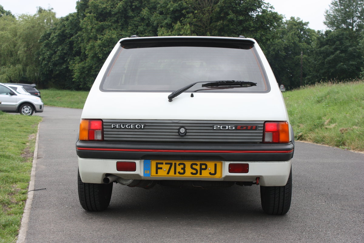 1989 Peugeot 205 GTI 1.6 SOLD (picture 3 of 6)