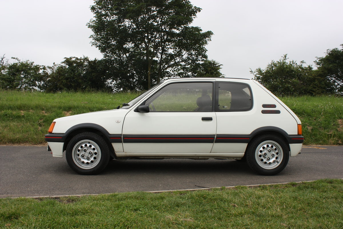 1989 Peugeot 205 GTI 1.6 SOLD (picture 4 of 6)
