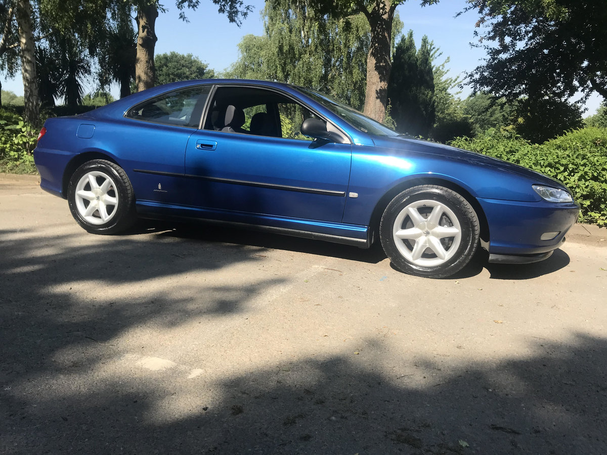 1999 PEUGEOT 406 V6 Coupe 3.0 petrol manual SOLD (picture 1 of 6)