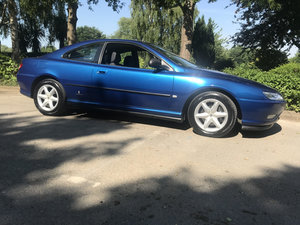 1999 PEUGEOT 406 V6 Coupe 3.0 petrol manual