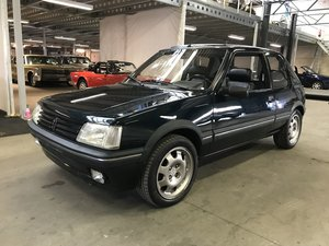 Peugeot 205 1.9 GTI Gentry 1992 sliding roof
