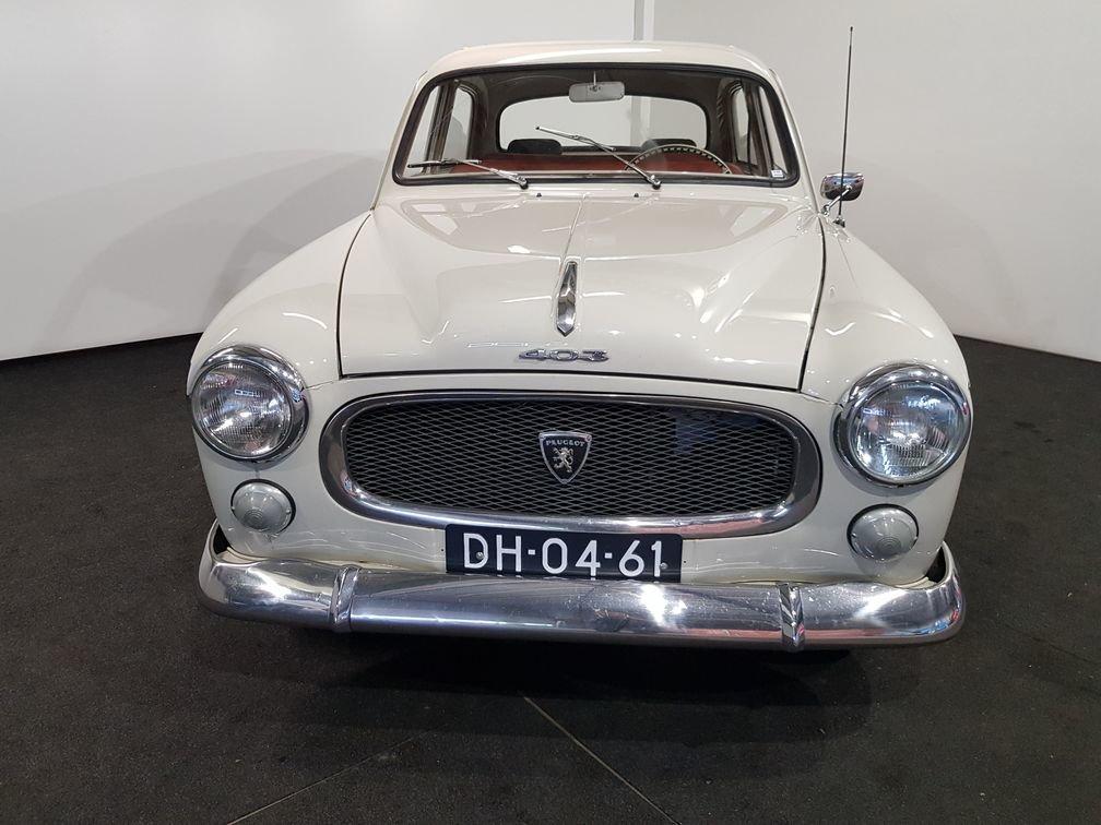 Peugeot 403 B7 1963 four-door sedan For Sale (picture 3 of 6)