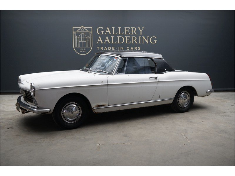1963 Peugeot 404 Convertible with Hard-Top For Sale (picture 1 of 6)