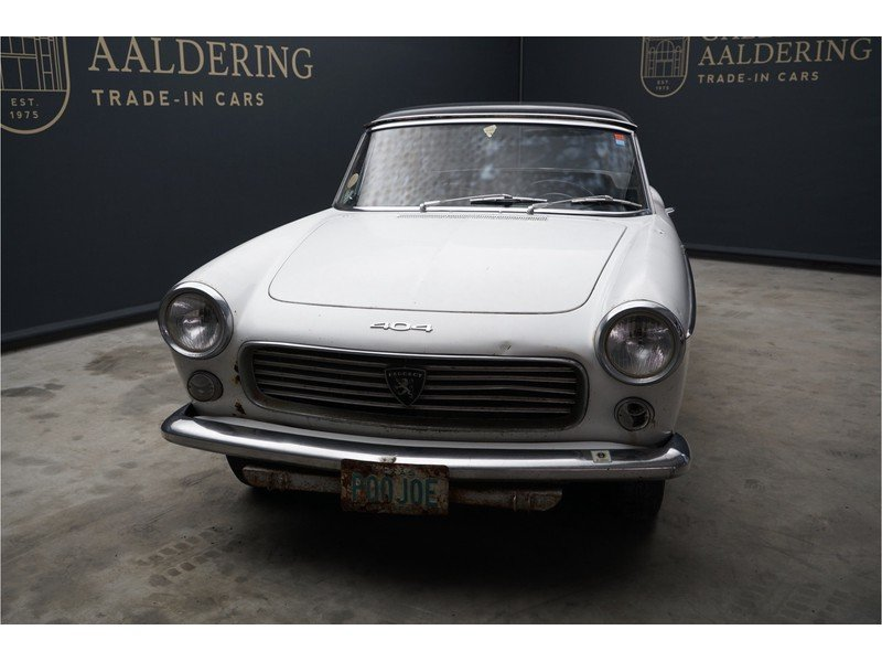 1963 Peugeot 404 Convertible with Hard-Top For Sale (picture 5 of 6)