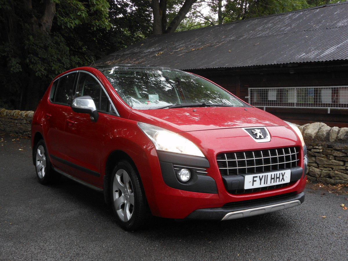 2011 Peugeot 3008 1.6 HDI Exclusive 110BHP 1 Former + FSH SOLD (picture 1 of 6)