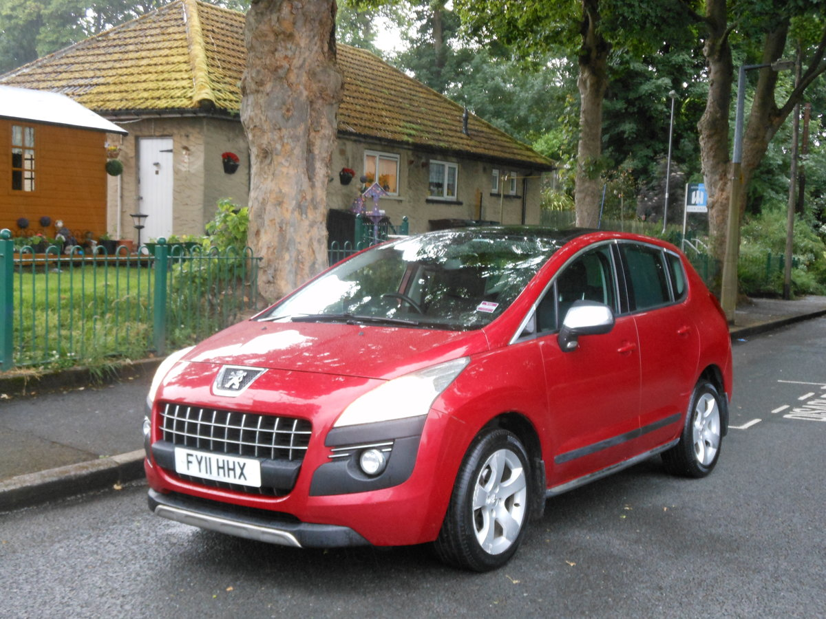 2011 Peugeot 3008 1.6 HDI Exclusive 110BHP 1 Former + FSH SOLD (picture 4 of 6)