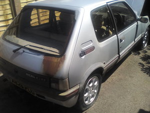 1984 Very early Peugeot 205 gti