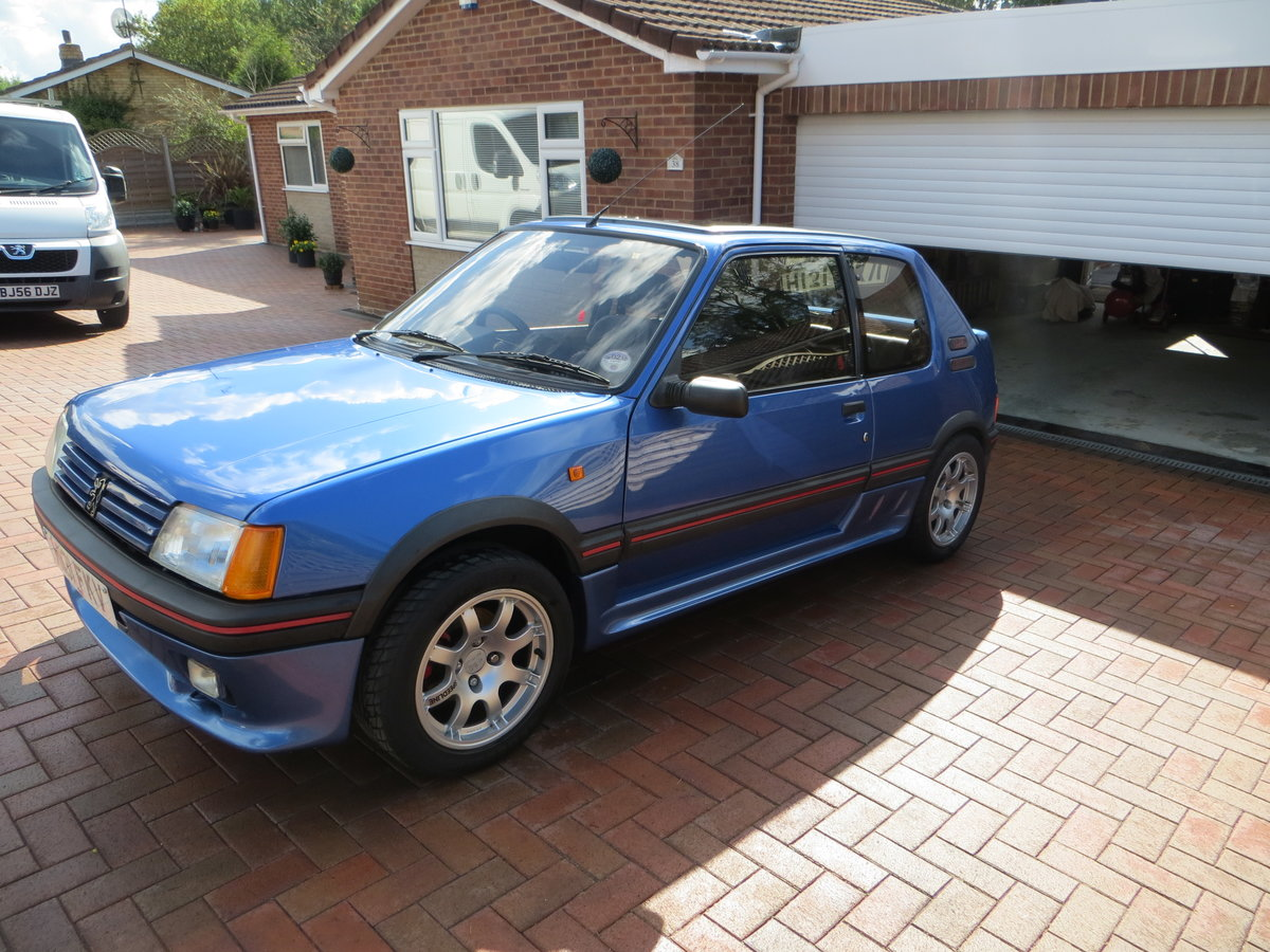 1990 Peugeot 205 1.9 GTI VERY RARE SPECIAL EDITION For Sale (picture 1 of 6)