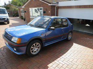 1990 Peugeot 205 1.9 GTI VERY RARE SPECIAL EDITION