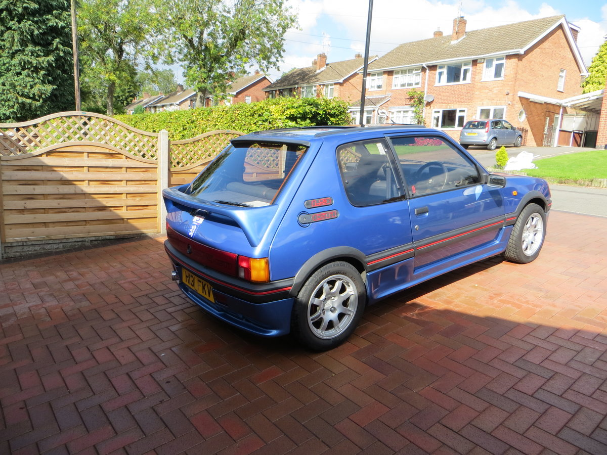 1990 Peugeot 205 1.9 GTI VERY RARE SPECIAL EDITION For Sale (picture 2 of 6)