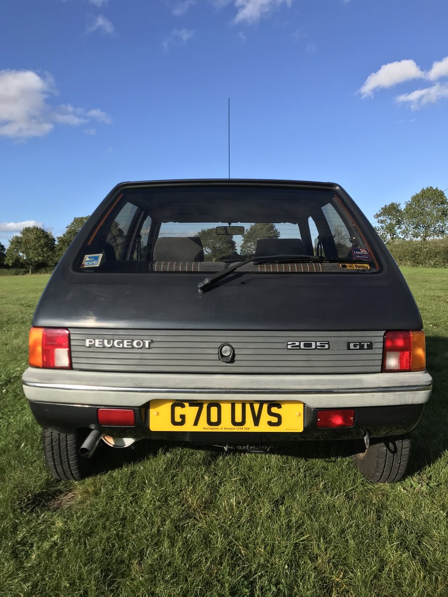 1989 Peugeot 205 GT For Sale (picture 3 of 6)