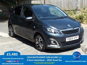 2014/64 Peugeot 108 1.2 VTi PureTech (82bhp) Allure