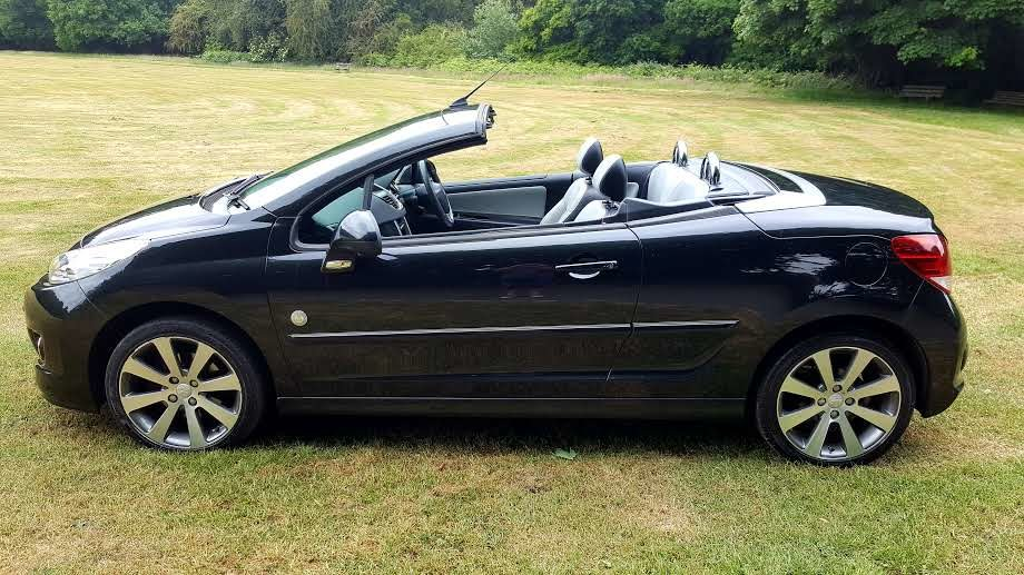 2014 Peugeot 207 Convertible-Roland Garros Ltd Edition SOLD (picture 1 of 6)