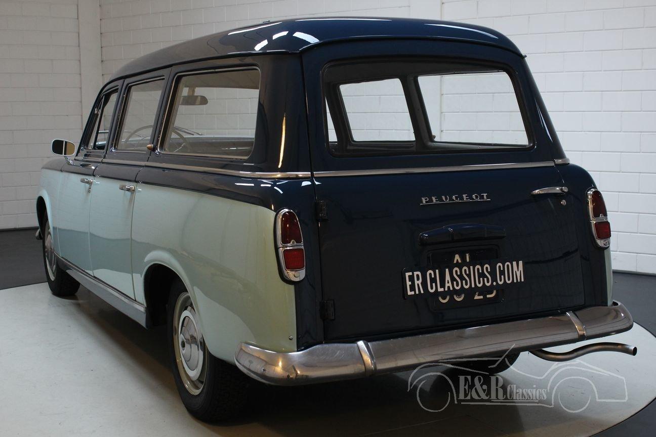 Peugeot 403 Commerciale 1959 Rare model For Sale (picture 6 of 6)