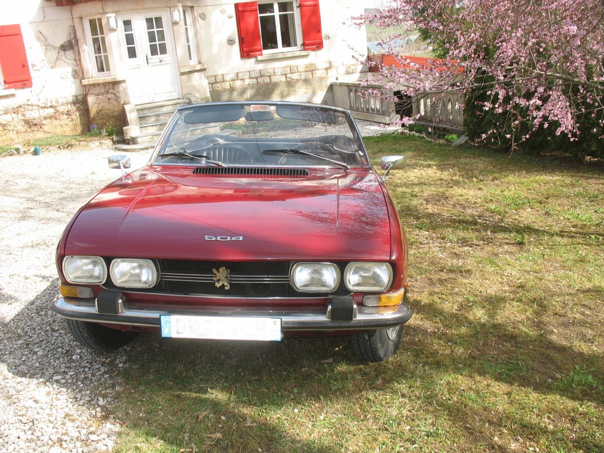 1970 Peugeot 504 For Sale (picture 5 of 6)