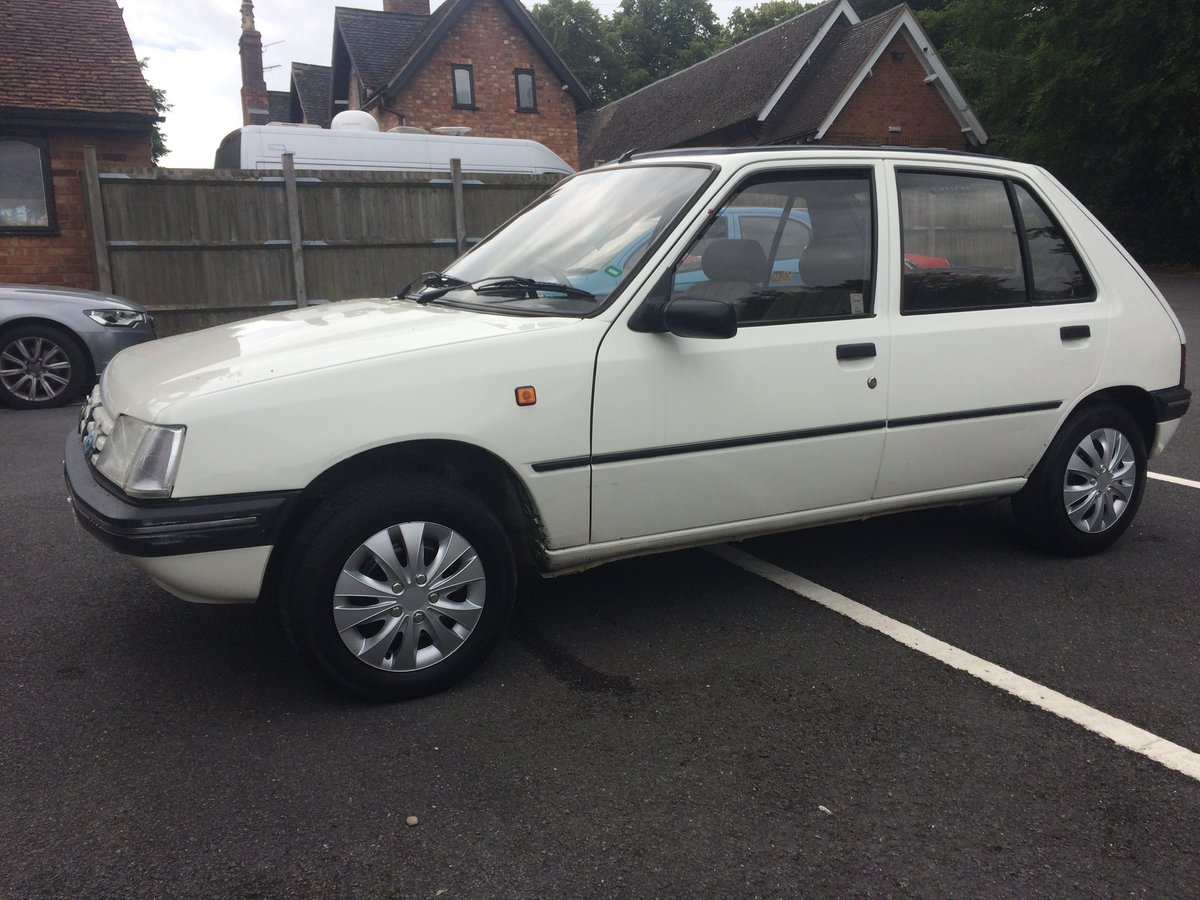 1992 Peugeot 205 automatic For Sale (picture 2 of 6)