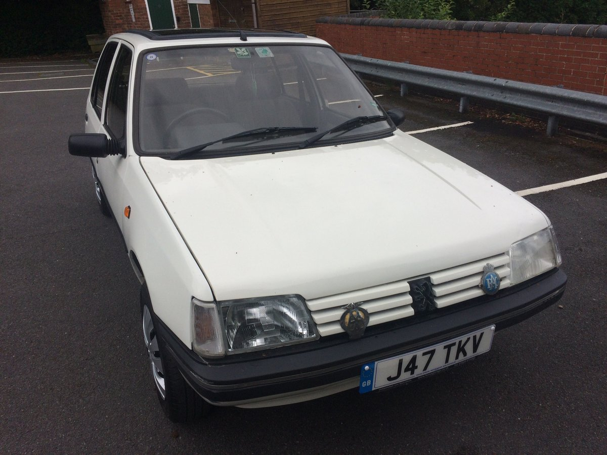 1992 Peugeot 205 automatic For Sale (picture 5 of 6)