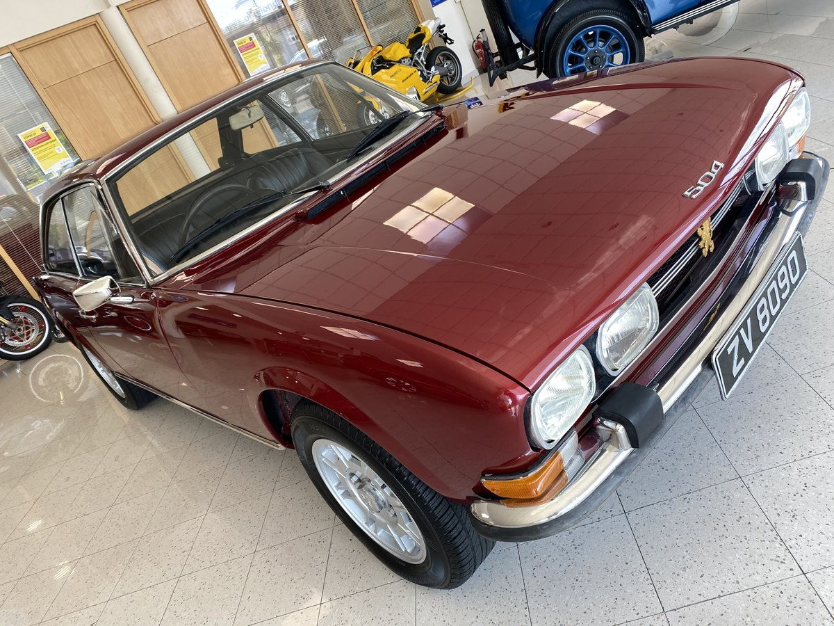 1972 Peugeot 504 Coupe For Sale (picture 1 of 6)