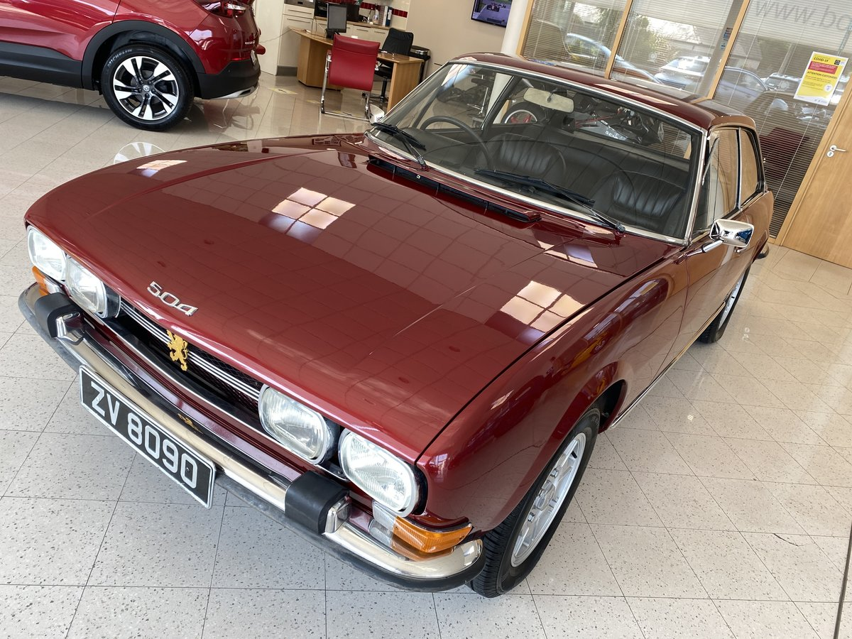 1972 Peugeot 504 Coupe For Sale (picture 5 of 6)