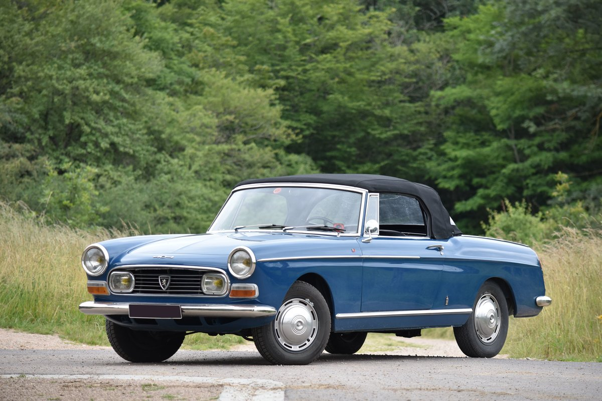 1966 Peugeot 404 Cabriolet Super Luxe Injection For Sale by Auction (picture 1 of 6)