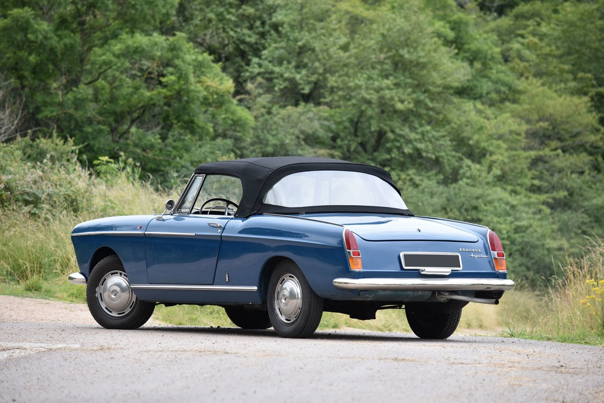 1966 Peugeot 404 Cabriolet Super Luxe Injection For Sale by Auction (picture 2 of 6)