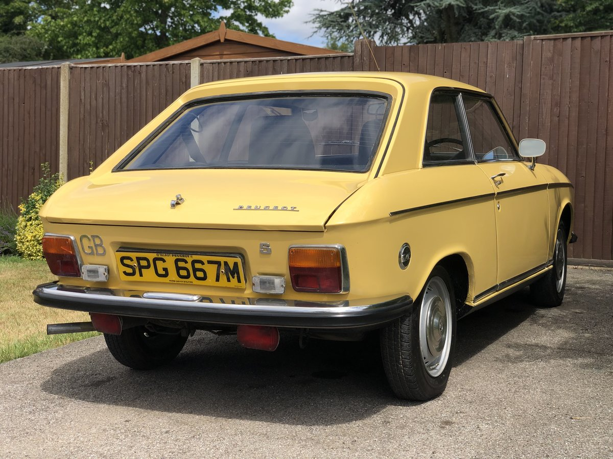 1973 Peugeot 304s Coupe For Sale (picture 4 of 6)