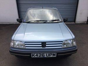 1992 STUNNING! Peugeot 309 Zest 5 Door. Only 45,000mls. Superb!