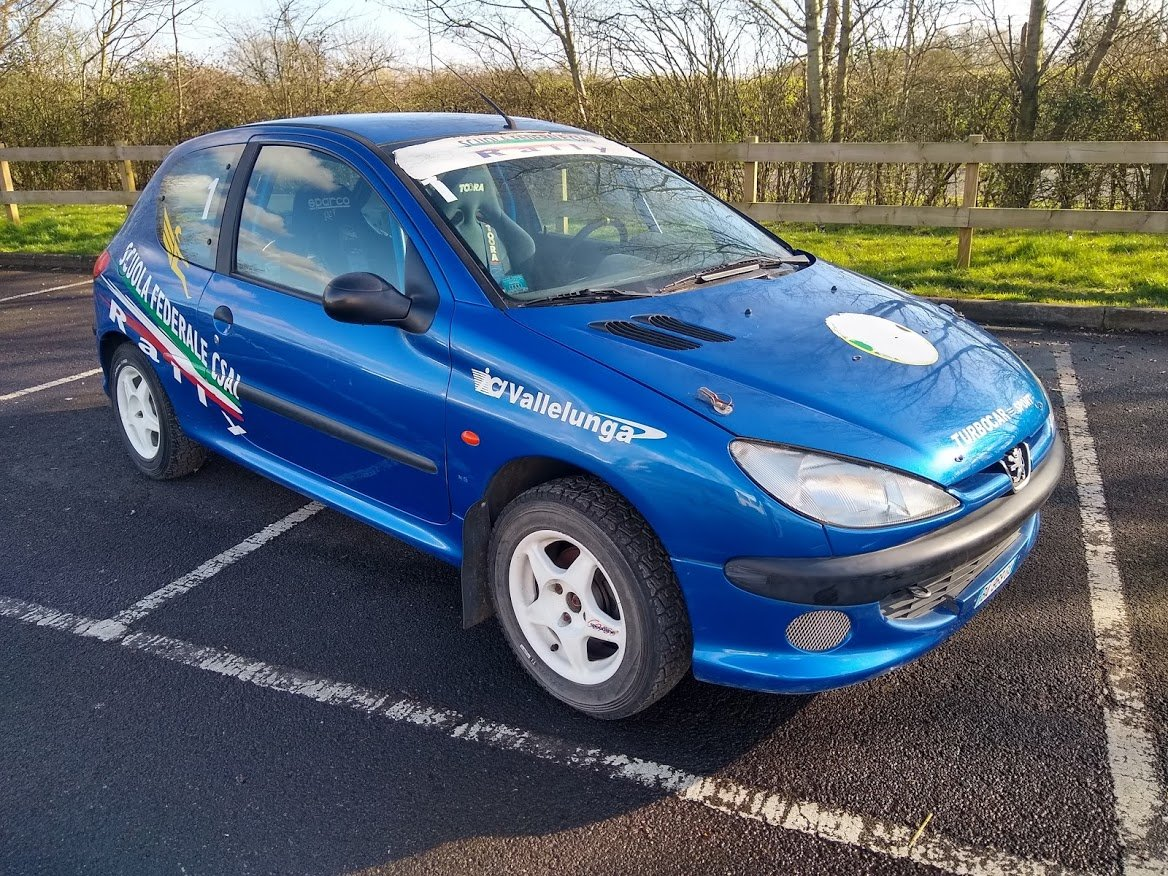 2004 Peugeot 206 Track Rally Racecar auction 16th-17th July For Sale by Auction (picture 1 of 6)