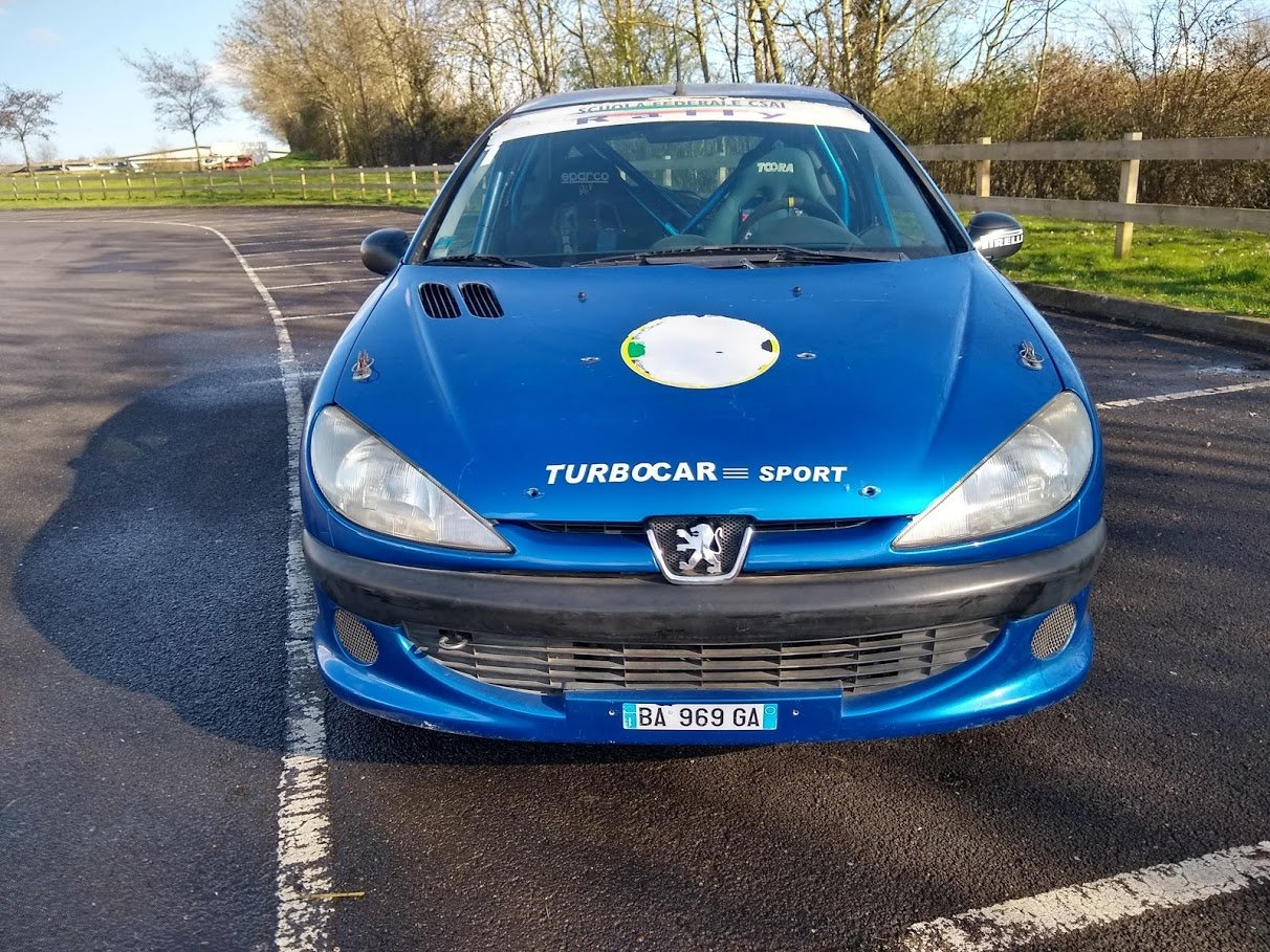 2004 Peugeot 206 Track Rally Racecar auction 16th-17th July For Sale by Auction (picture 2 of 6)