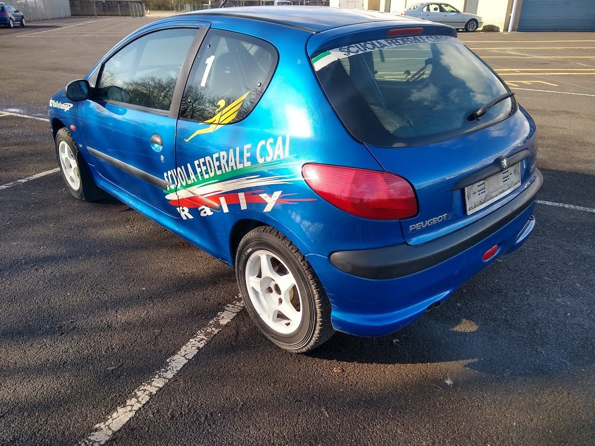 2004 Peugeot 206 Track Rally Racecar auction 16th-17th July For Sale by Auction (picture 4 of 6)