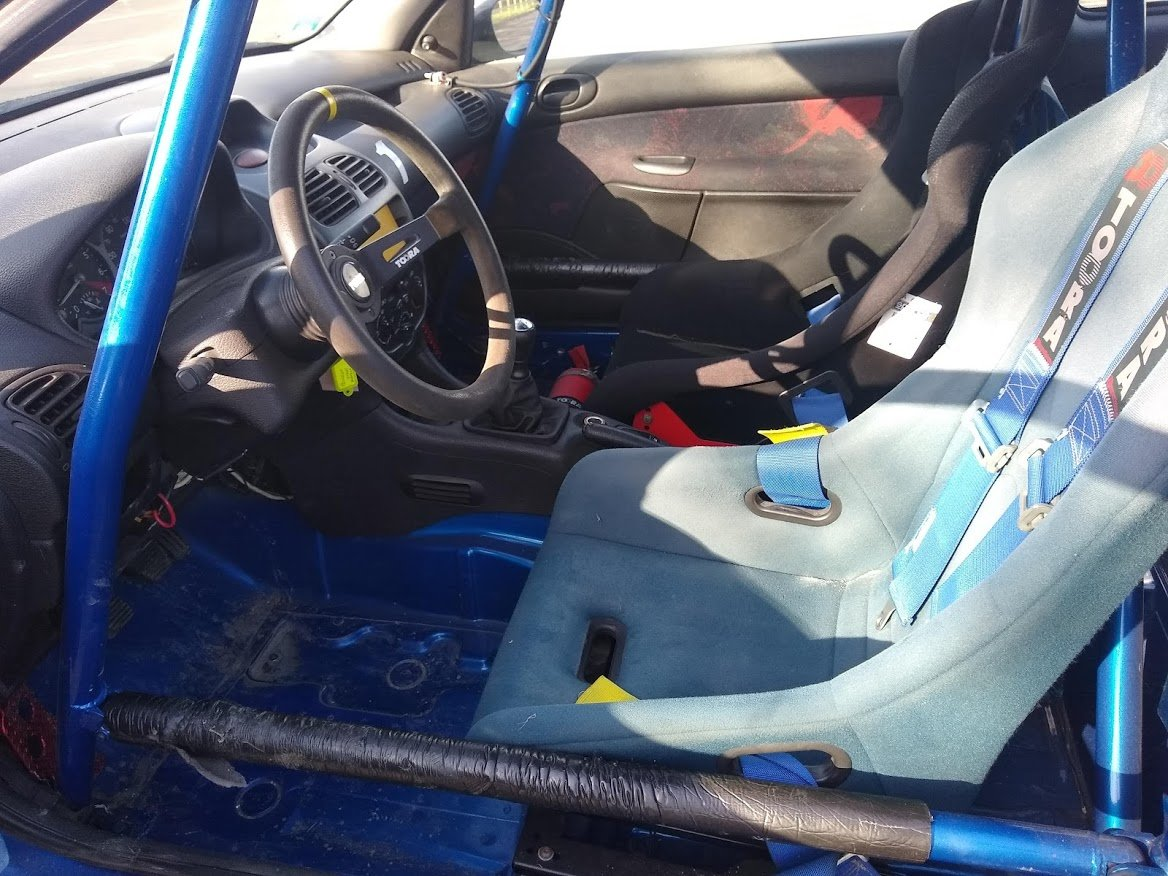 2004 Peugeot 206 Track Rally Racecar auction 16th-17th July For Sale by Auction (picture 5 of 6)