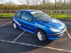 2004 Peugeot 206 Track Rally Racecar auction 16th-17th July