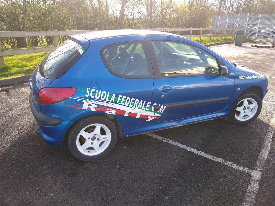 2004 Peugeot 206 Track Rally Racecar auction 16th-17th July For Sale by Auction (picture 3 of 6)