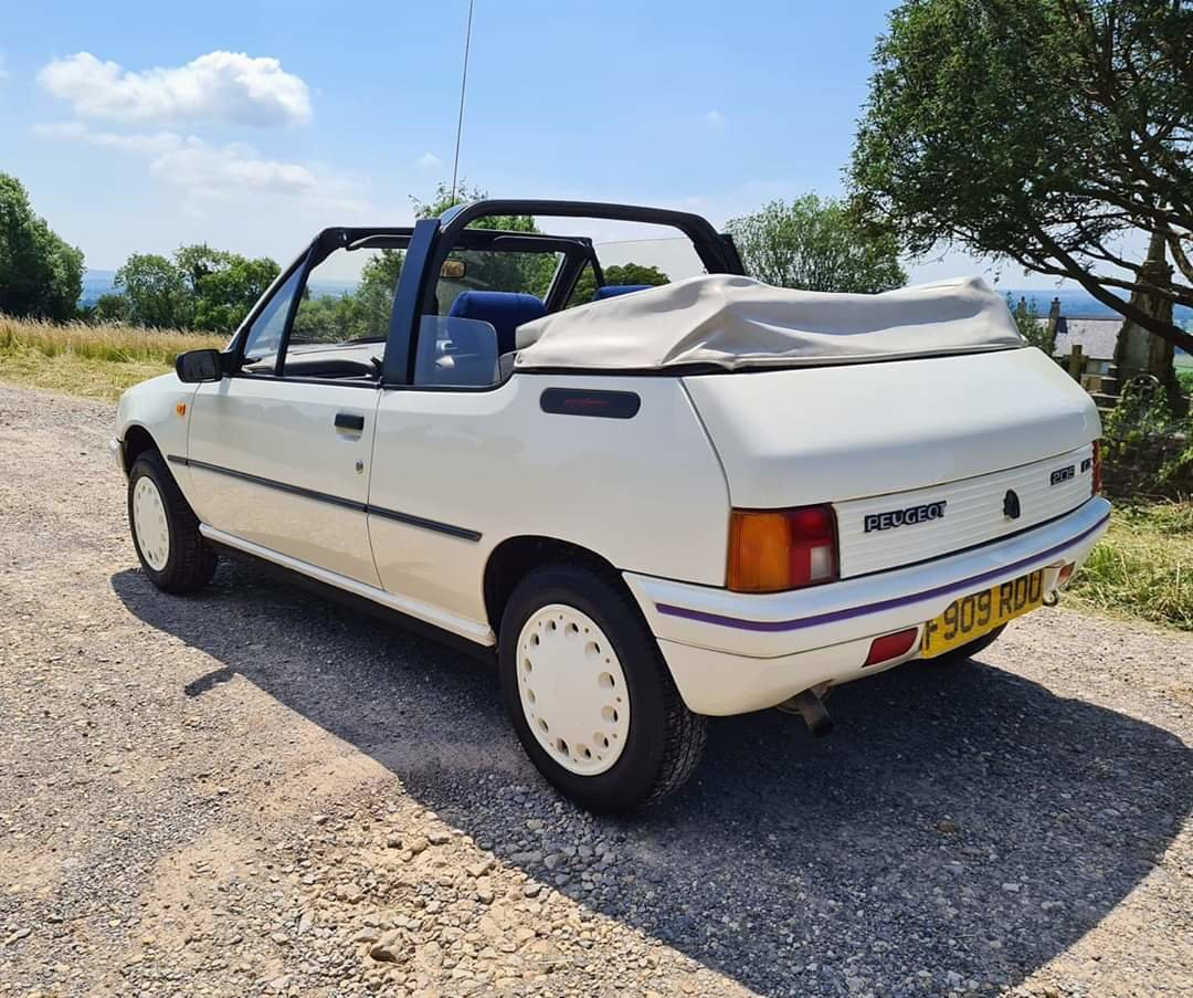1988 Peugeot 205 1.4 CJ Convertible For Sale (picture 3 of 5)