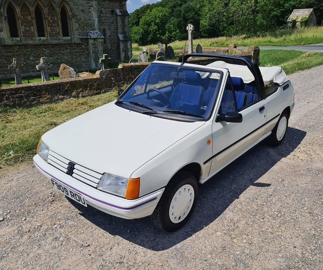 1988 Peugeot 205 1.4 CJ Convertible For Sale (picture 4 of 5)