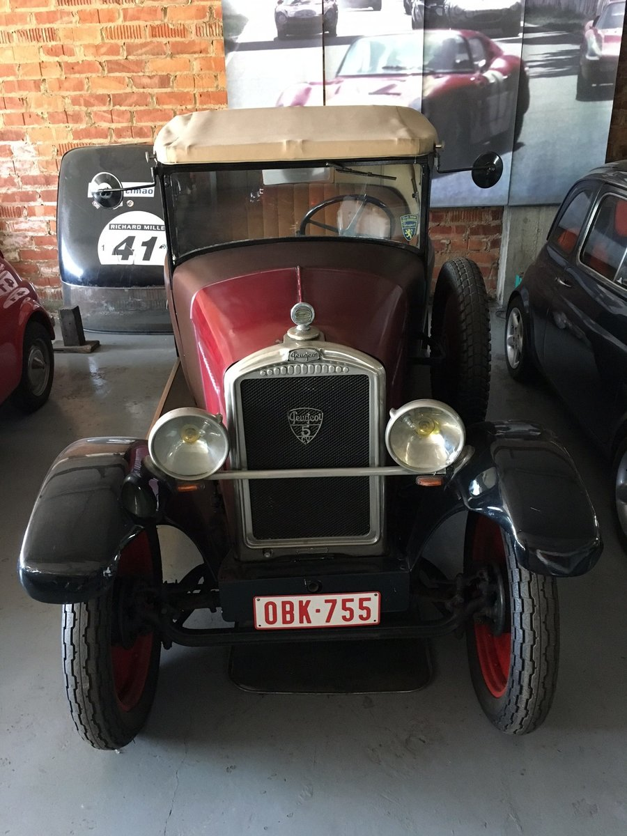 1929 Peugeot 5CV Cabriolet Wymann For Sale (picture 1 of 6)