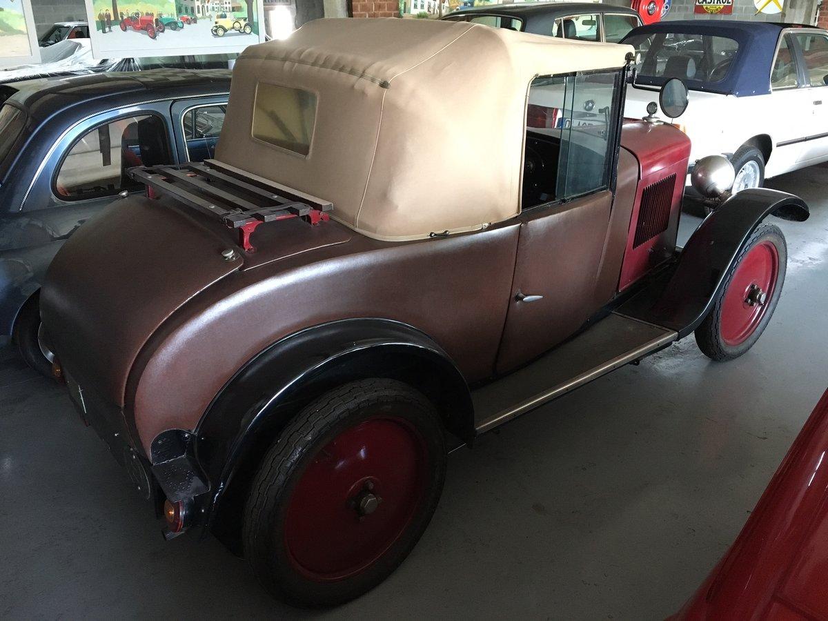 1929 Peugeot 5CV Cabriolet Wymann For Sale (picture 2 of 6)