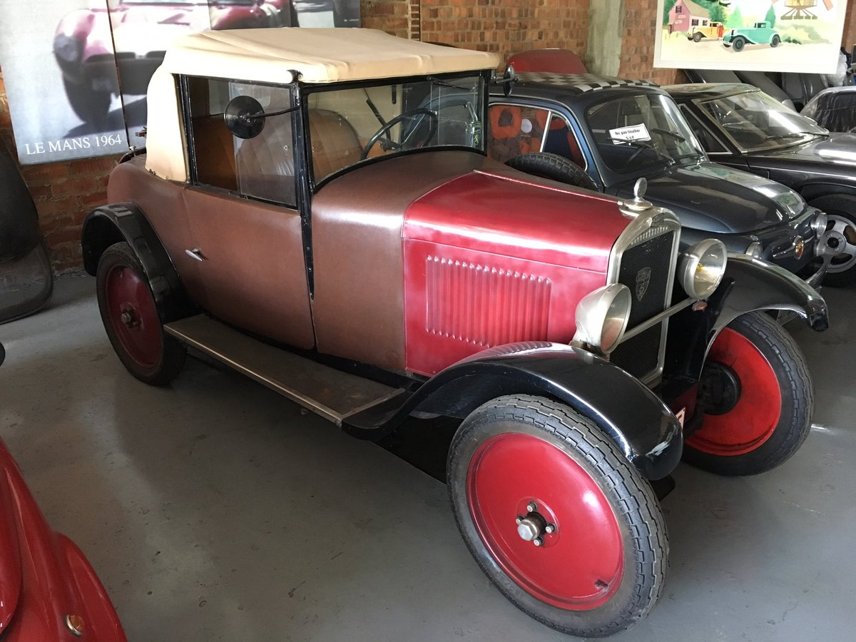 1929 Peugeot 5CV Cabriolet Wymann For Sale (picture 3 of 6)
