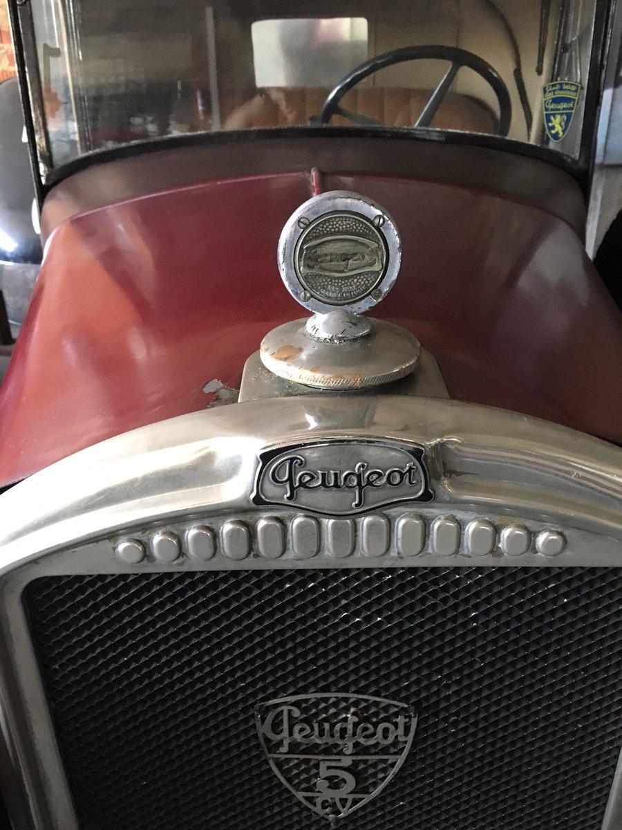 1929 Peugeot 5CV Cabriolet Wymann For Sale (picture 4 of 6)